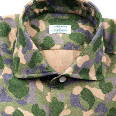 Green Camo Shirt in L31 Collar (2)