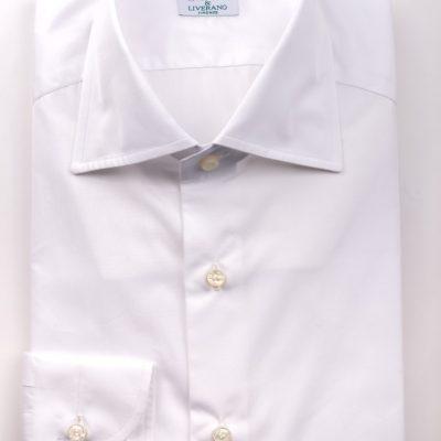 White Poplin Shirt in L1 Collar (1)